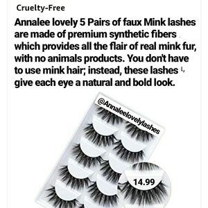 The best faux Mink Lashes😍